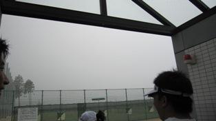 110730雷雨の中断