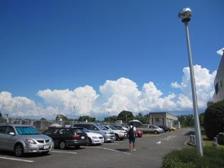 110827綿飴のような雲