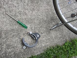 130531 自転車カギ壊し